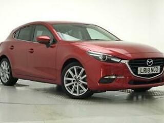2018 Mazda 3 2.0 Sport Nav 5dr Petrol red Manual