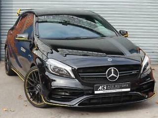 2018 Mercedes Benz A Class 2.0 A45 AMG Yellow Night Edition SpdS DCT 4MATIC s/s