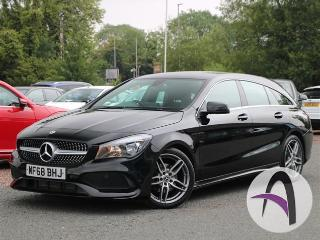 Mercedes Benz CL Class CLA A Shooting Brake 180 1.6 AMG Line Estate 2018, 9246 miles, £19499