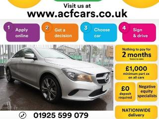 Mercedes Benz CL Class CL CLA 220 D SPORT CAR FINANCE FR £73 PW Auto Saloon 2018, 25000 miles, £16490