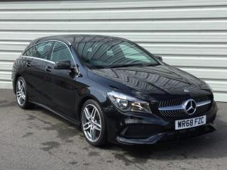 Mercedes Benz CL Class CLA CLA 200 AMG Line Edition 5dr Estate 2018, 2054 miles, £17999