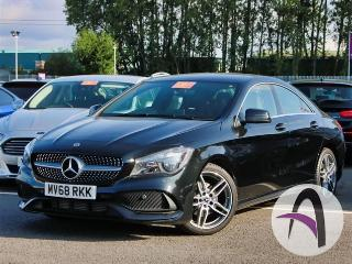 Mercedes Benz CL Class CLA A 180 1.6 AMG Line Edition 4dr Saloon 2018, 3186 miles, £20499