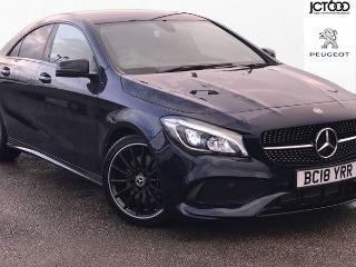 Mercedes Benz CL Class CLA CLA 220 D AMG LINE NIGHT EDITION Saloon 2018, 7652 miles, £23000