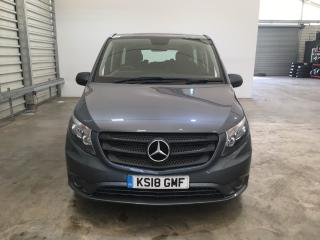 Mercedes Benz V Class Vito 119 BLUETEC TOURER SELECT MPV 2018, 20758 miles, £22900