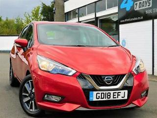 2018 NISSAN MICRA 0.9 IG T ACENTA LIMITED EDITION 5DR HATCHBACK MANUAL PETROL UL