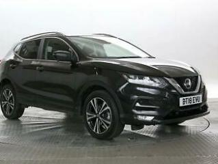 2018 Nissan Qashqai 1.2 DiG T N Connecta Hatchback Petrol Manual
