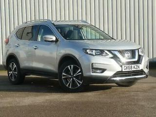 2018 Nissan X Trail 2.0 dCi N Connecta 5dr Xtronic Diesel silver Automatic