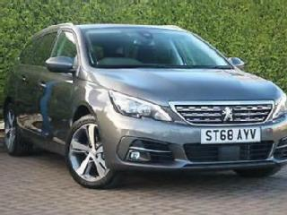 2018 Peugeot 308 SW Tech Edition 1.2 PureTech 130 EAT8 Auto Estate Petrol grey A