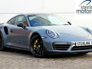2018 Porsche 911 911 Turbo S 2dr PDK Petrol grey Automatic