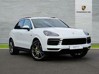 2018 Porsche Cayenne V6 TIPTRONIC PETROL/ELECTRIC white Automatic