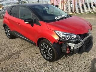 2018 Renault Captur Iconic 18 reg UNRECORDED repairable salvage NOT RECORDED