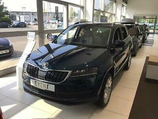 2018 Skoda Karoq Karoq Edition 2.0 TDI SCR 150 PS 4x4 Diesel blue Manual