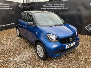 2018 smart forfour 1.0 Pure s s 5dr Hatchback Petrol Manual