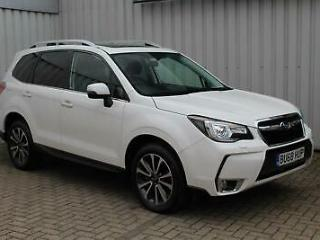 2018 Subaru Forester 2.0 241ps AWD Lineartronic XT Crystal White Pearl