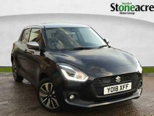 2018 Suzuki Swift 1.0 Boosterjet SHVS SZ5 Hatchback 5dr Petrol Hybrid Manual