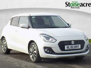 2018 Suzuki Swift 1.0 Boosterjet SZ5 Hatchback 5dr Petrol Auto 111 ps