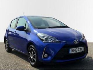 2018 Toyota Yaris 1.5 VVT i Icon Tech Petrol blue Manual