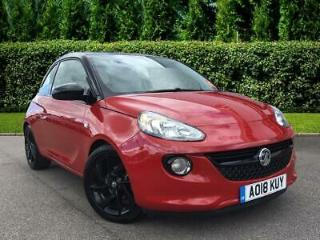 2018 Vauxhall Adam Special Edition 1.2i Energised 3dr Hatchback Petrol red Manua
