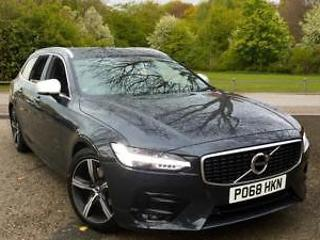 2018 Volvo V90 2.0 D4 R DESIGN with Winter Pa Automatic Diesel Estate