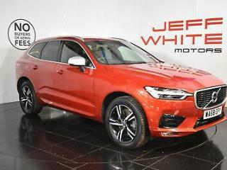2018 Volvo XC60 2.0 D4 R DESIGN 5dr AWD Geartronic Automatic Diesel red Automati