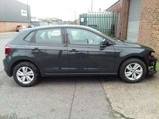 2018 VW POLO 1.0 SE 5dr Grey ONLY 8k DAMAGED REPAIRABLE SALVAGE