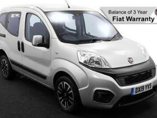 2019 19 FIAT QUBO 1.3 MULTIJET LOUNGE UPFRONT WHEELCHAIR ACCESSIBLE VEHICLE
