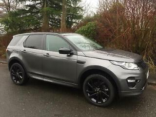 2019 19 reg,Land Rover Discovery Sport hse luxury dynamic 2.0 auto