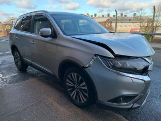 2019 19 REG MITSUBISHI OUTLANDER 4 2.0 PETROL CVT 100% UNRECORDED SALVAGE
