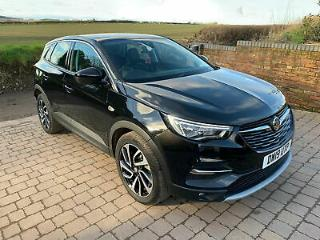 2019 19 VAUXHALL GRANDLAND X ELITE NAV 1.2T 130BHP DAMAGED NOW REPAIRED CAT N