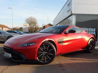 Aston Martin Vantage 2dr ZF 8 Speed Coupe 2019, 3665 miles, £102900