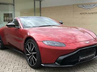 2019 Aston Martin Vantage Coupe Petrol red Automatic