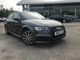 2019 Audi A3 Sportback Black Edition 30 TDI 116 PS 6 speed Diesel grey Manual