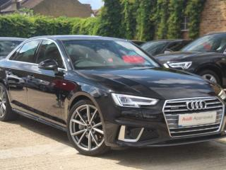 Audi A4 40 TDI Quattro S Line 4dr S Tronic Saloon 2019, 8617 miles, £27223