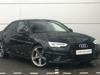 2019 Audi A4 Black Edition 40 TDI 190 PS S tronic Diesel black Semi Auto