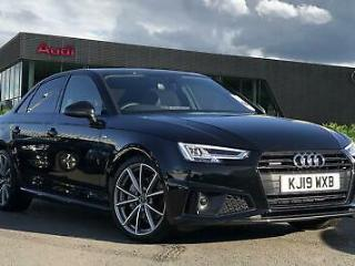 2019 Audi A4 Black Edition 40 TDI quattro 190 PS S tronic Diesel black Semi Auto