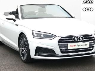 Audi A5 40 TDI S Line 2dr S Tronic Convertible 2019, 10 miles, £32400