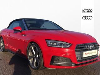 Audi A5 40 TFSI S Line 2dr Convertible 2019, 101 miles, £30000