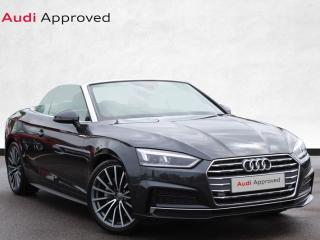 Audi A5 40 TDI S Line 2dr S Tronic Convertible 2019, 8582 miles, £26500