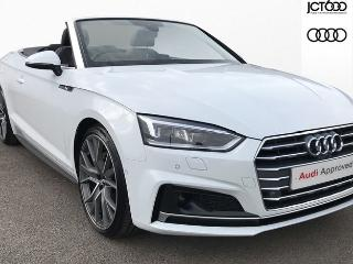 Audi A5 40 TDI Vorsprung 2dr S Tronic Convertible 2019, 4999 miles, £40500