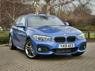 BMW 1 Series 120d M Sport 5 door 2019, 11447 miles, £19440