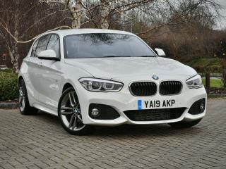 BMW 1 Series 120d M Sport 5 door 2019, 11370 miles, £19440