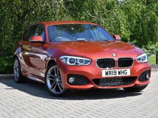 BMW 1 Series 118d M Sport 5 door 2019, 6278 miles, £20888