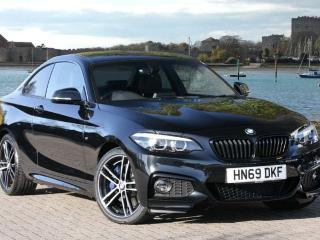 BMW 2 Series 220i M Sport Coupe Coupe 2019, 3 miles, £28990