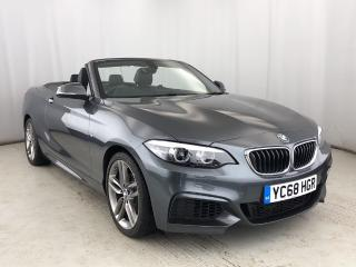 BMW 2 Series 218i M Sport Convertible HEATED LEATHER & LOW MILES 2019, 3542 miles, £21500