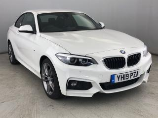BMW 2 Series 220d xDrive M Sport Coupe 4WD, HEATED LEATHER & CRUISE 2019, 5233 miles, £23950