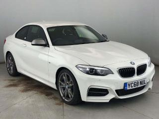 BMW 2 Series M240i Coupe PRO MEDIA & HEATED LEATHER 2019, 1765 miles, £25950