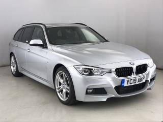 BMW 3 Series 318d M Sport Touring 2019, 12647 miles, £19888