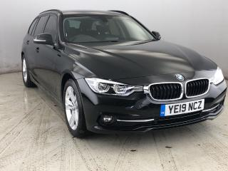 BMW 3 Series 318d Sport Touring TOWBAR & HEATED LEATHER 2019, 12060 miles, £18850