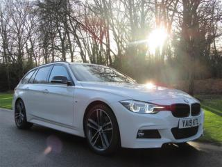 BMW 3 Series 2.0 320I M SPORT SHADOW EDITION TOURING AUTO S/S 5DR FULL LEATHER NAV Estate 2019, 1190 miles, £23699