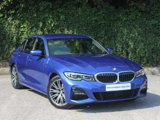 BMW 3 Series 320i M Sport Saloon Seat heating. front 2019, 999 miles, £29995